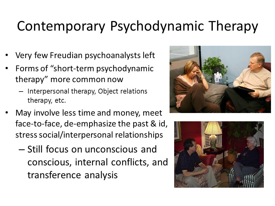 Contemporary Psychodynamic Therapy