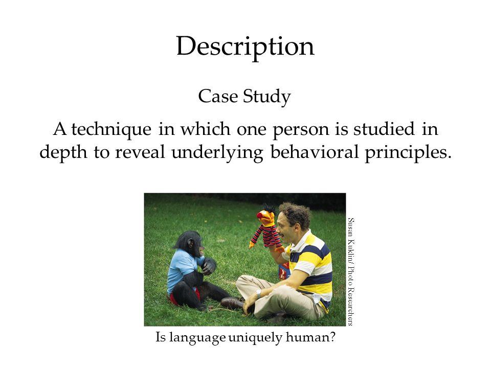 Is language uniquely human