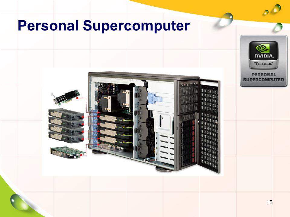 Personal Supercomputer