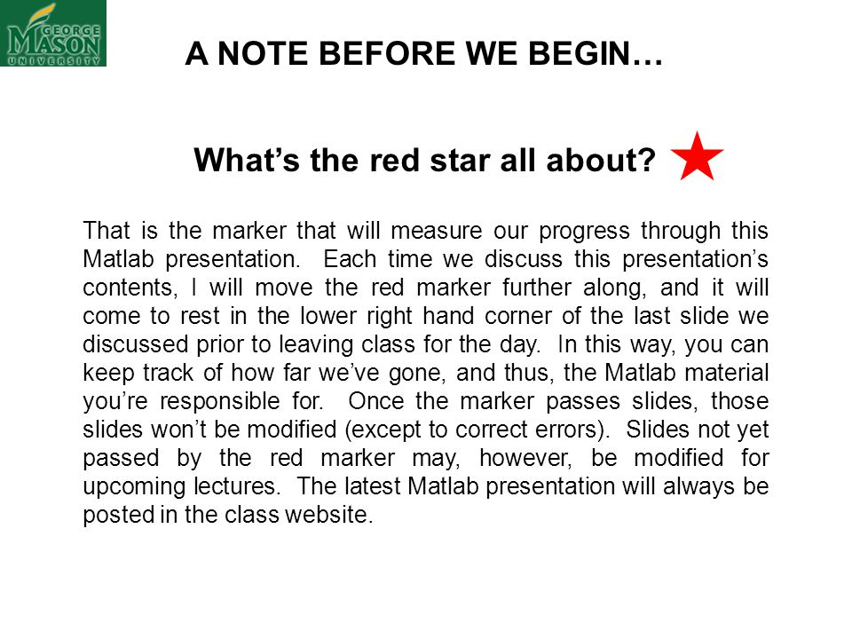 What's the red star all about