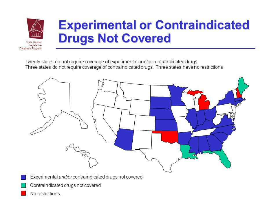 Experimental or Contraindicated Drugs Not Covered