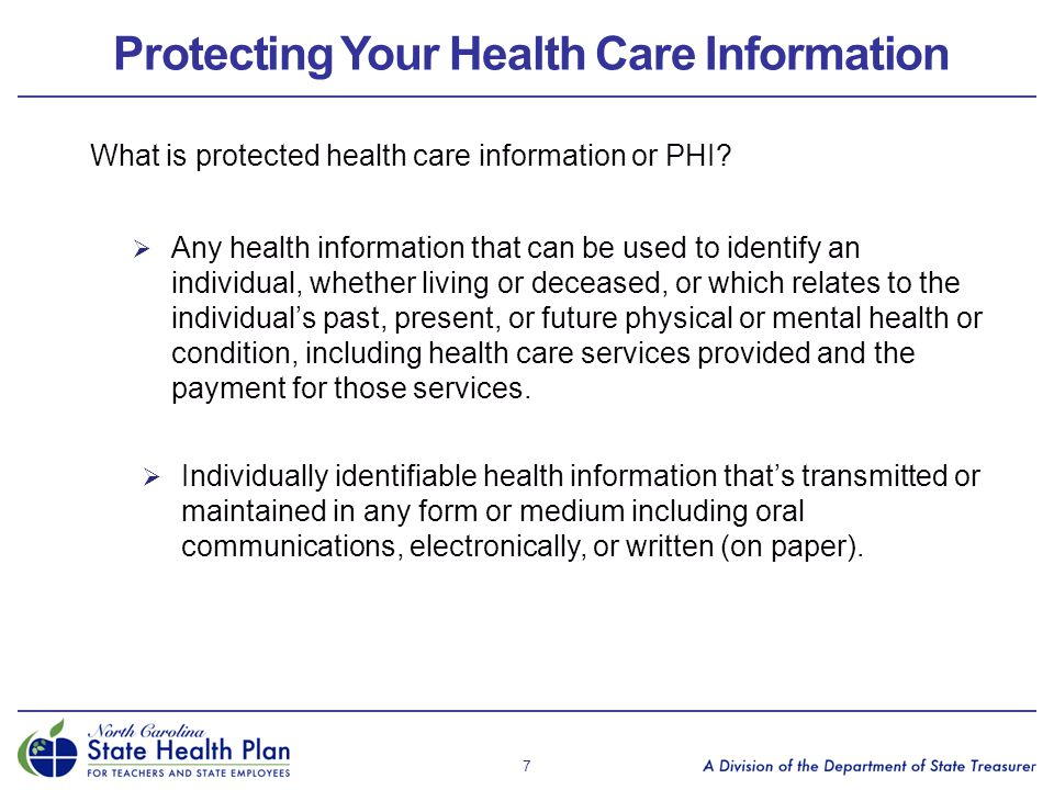 Protecting Your Health Care Information