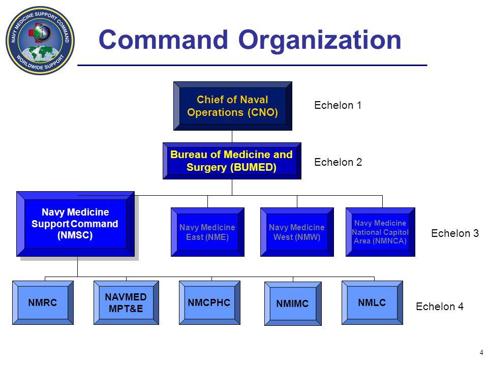 Command Organization Echelon 3 regional/global command