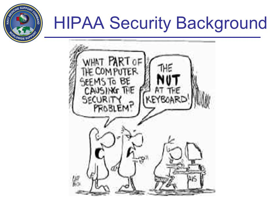 HIPAA Security Background