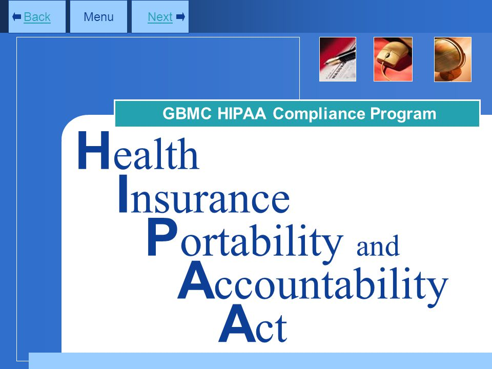 GBMC HIPAA Compliance Program