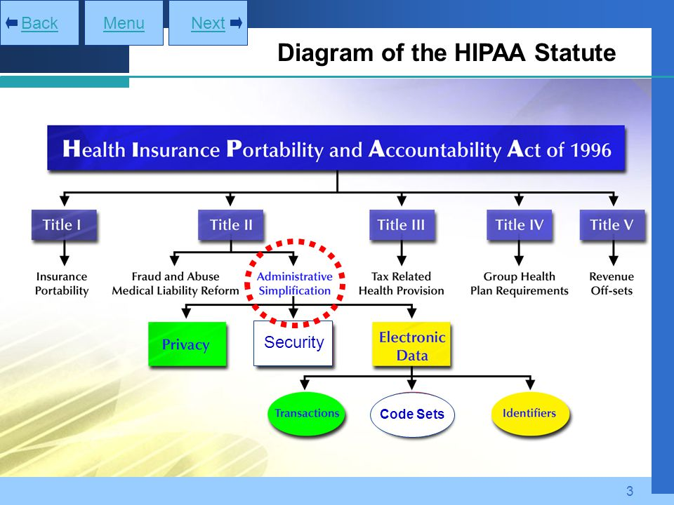 Diagram of the HIPAA Statute