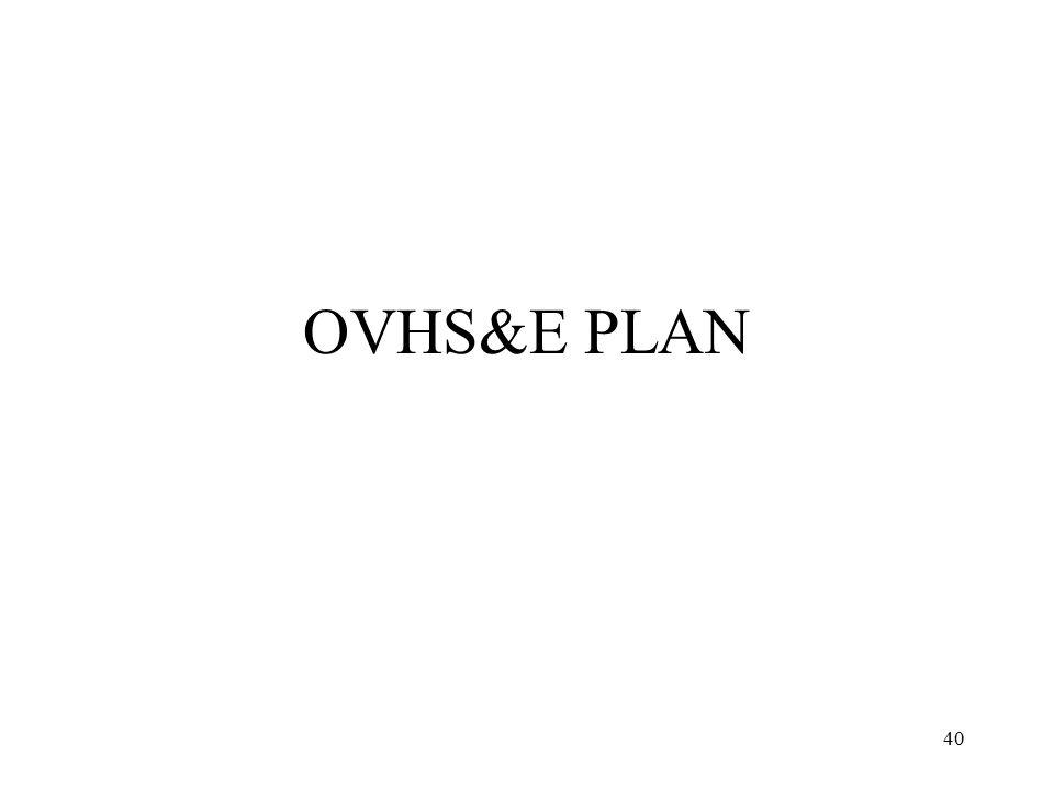 OVHS&E PLAN