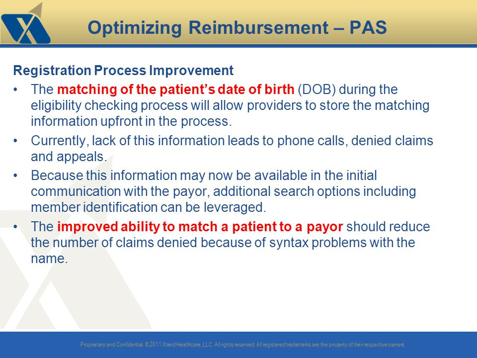 Optimizing Reimbursement – PAS