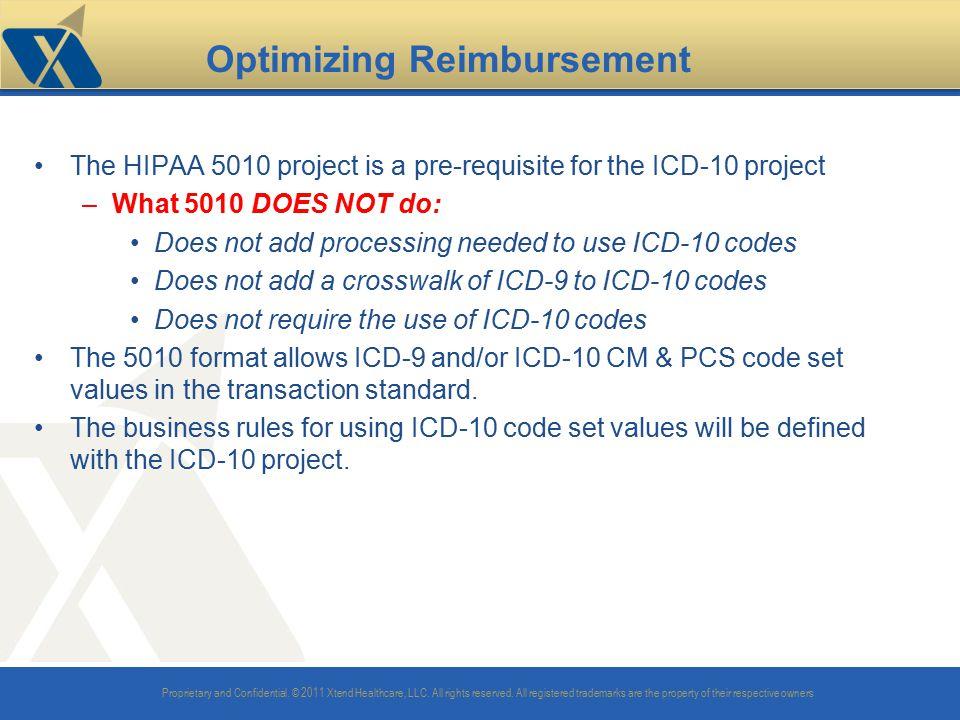 Optimizing Reimbursement