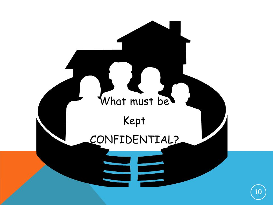 What must be Kept CONFIDENTIAL