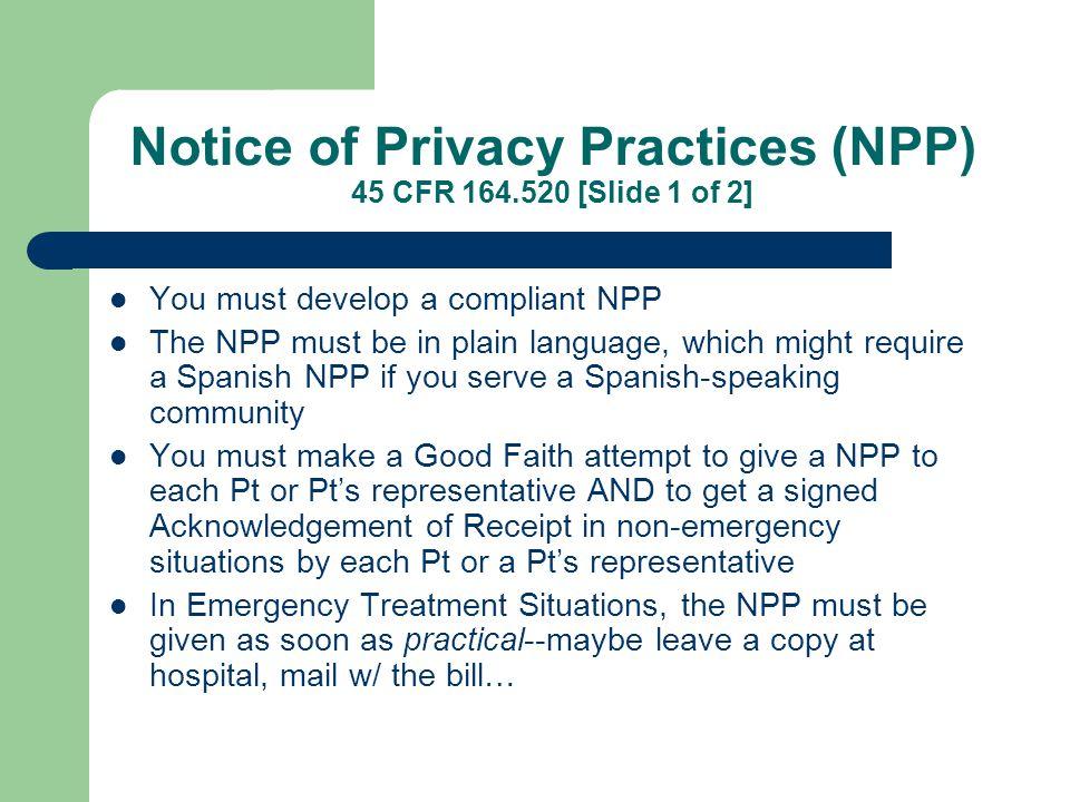 Designate a Privacy Official