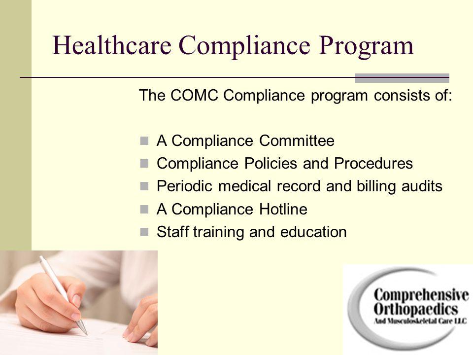 Healthcare Compliance Program