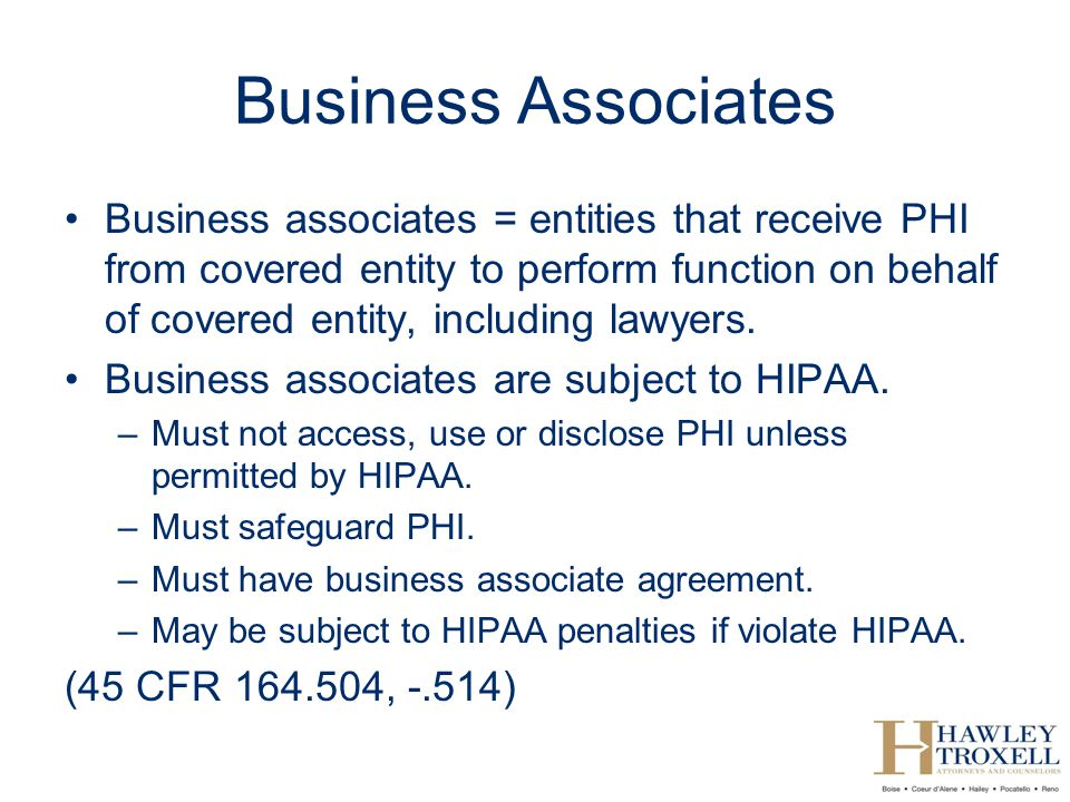 Hipaa For Lawyers Kim C Stanger   Ppt Video Online Download