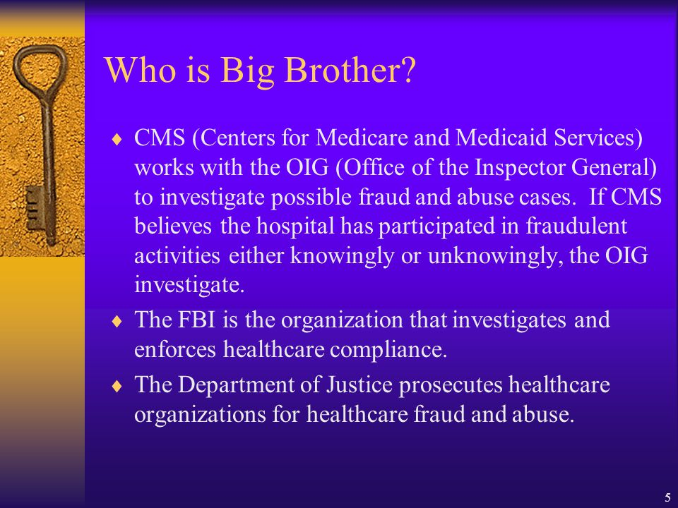 Who is Big Brother