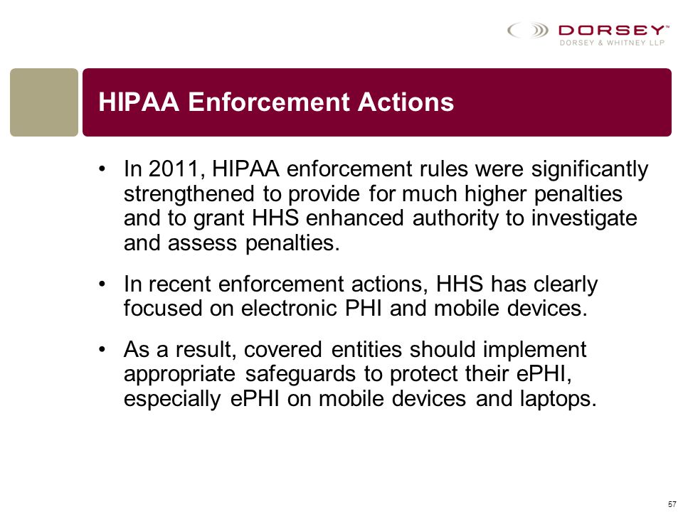 HIPAA Enforcement Actions