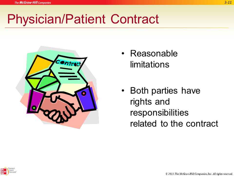Physician/Patient Contract