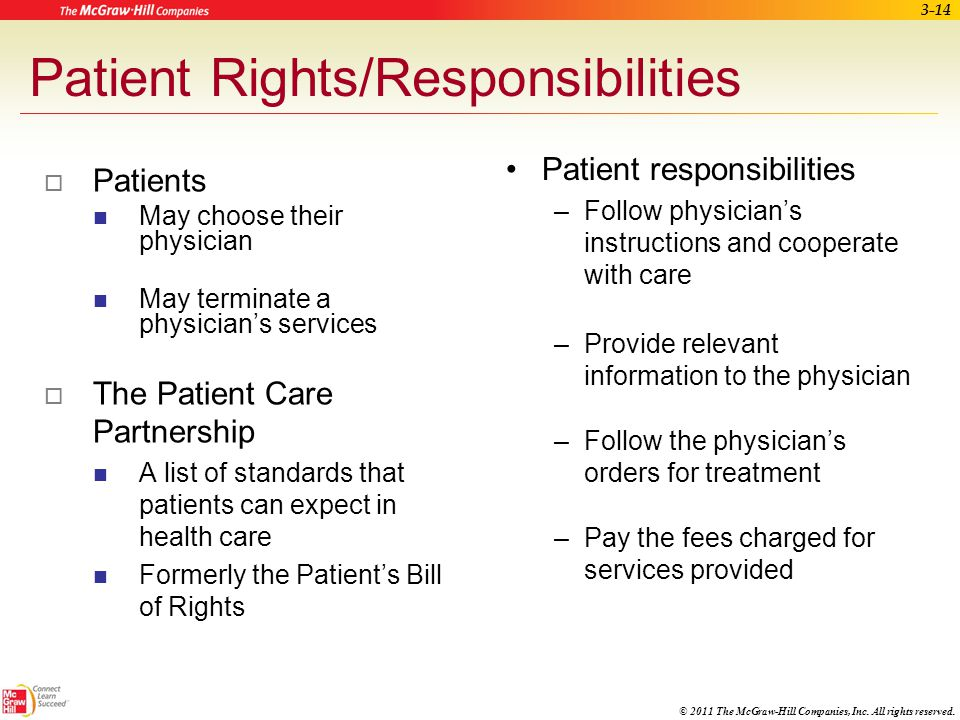 Patient Rights/Responsibilities