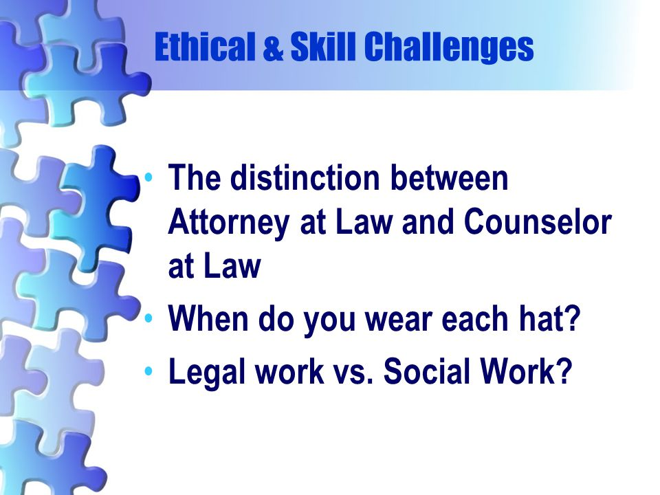 Ethical & Skill Challenges