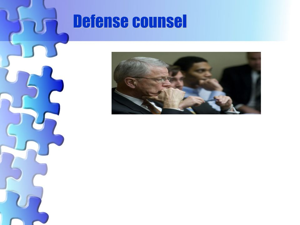 Defense counsel 54