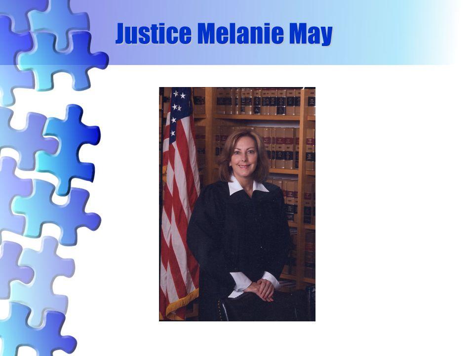 Justice Melanie May 56