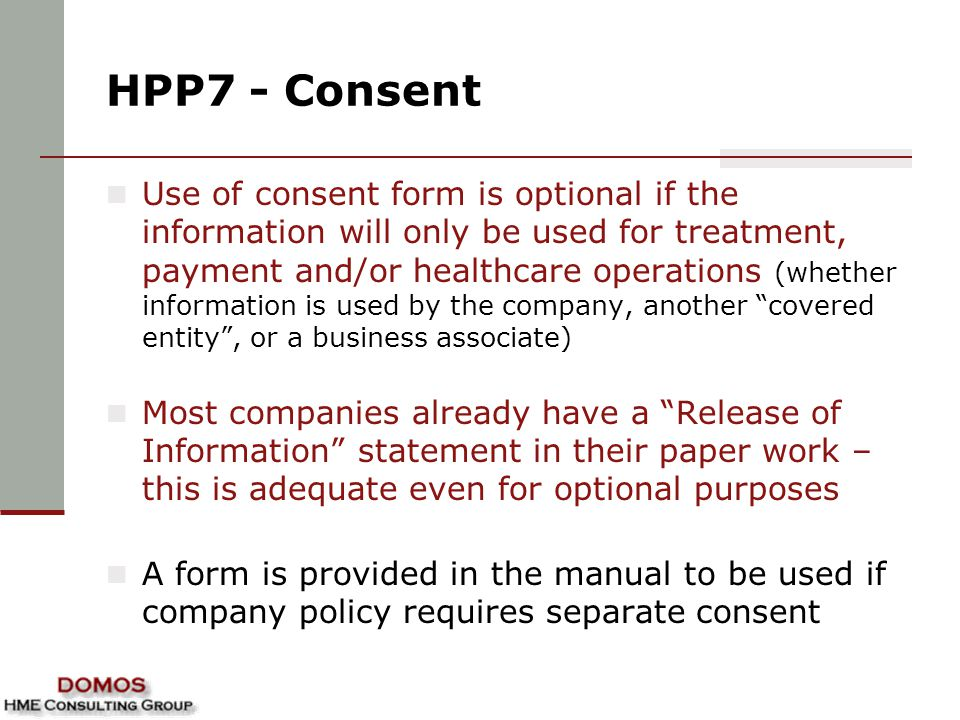HPP7 - Consent