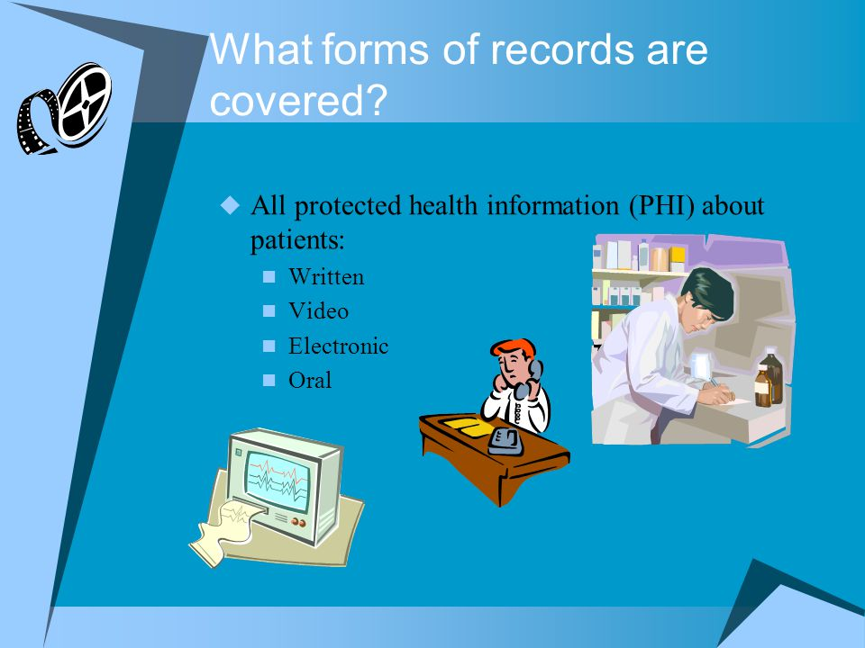 What forms of records are covered