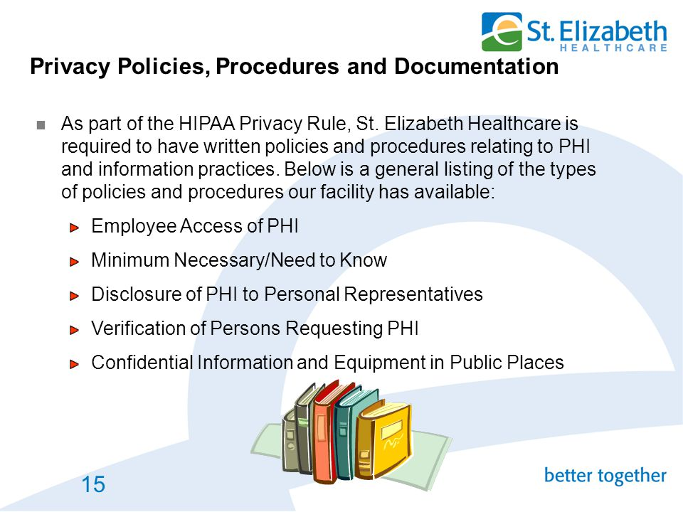 Privacy Policies, Procedures and Documentation