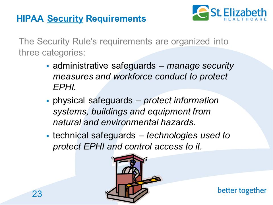 HIPAA Security Requirements