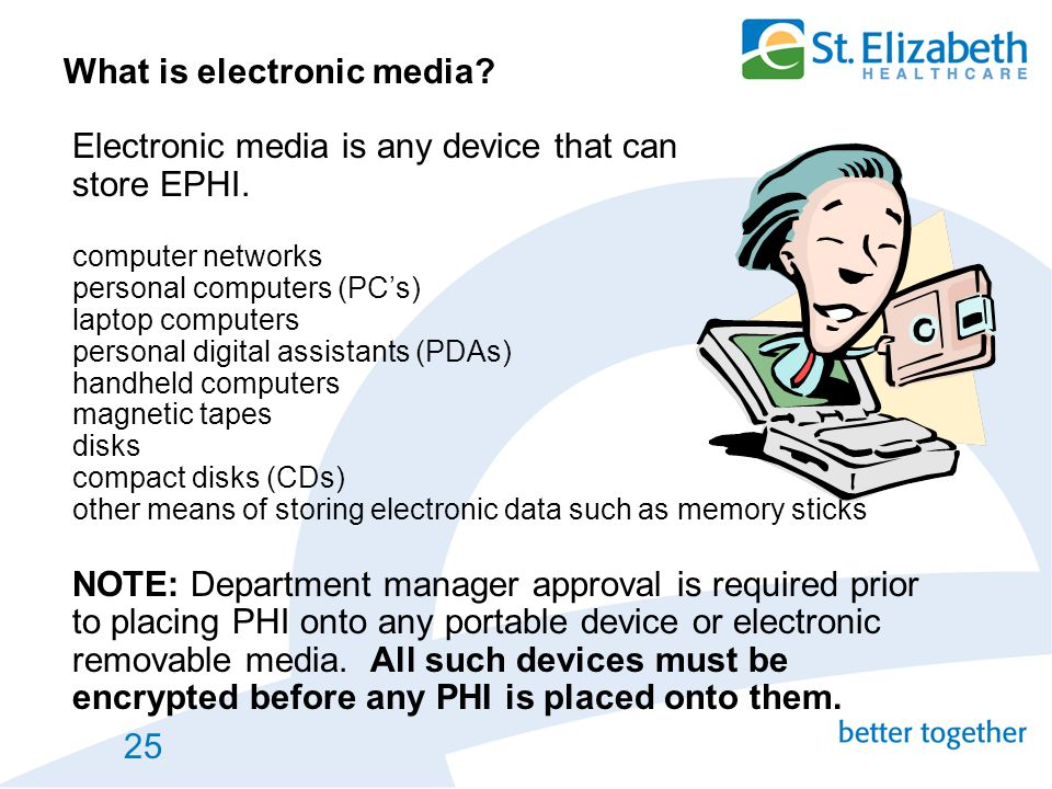What is electronic media