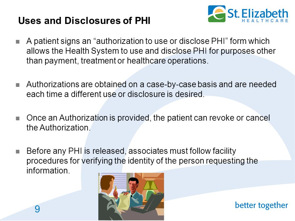 Uses and Disclosures of PHI