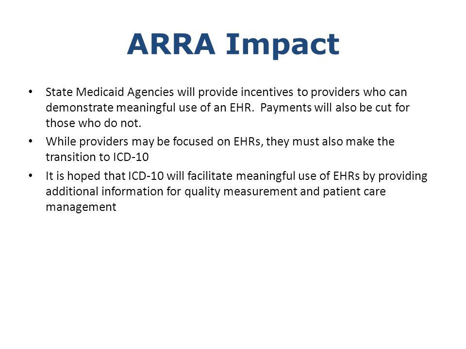 ARRA Impact
