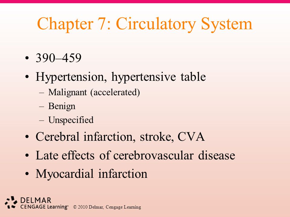 Chapter 7: Circulatory System