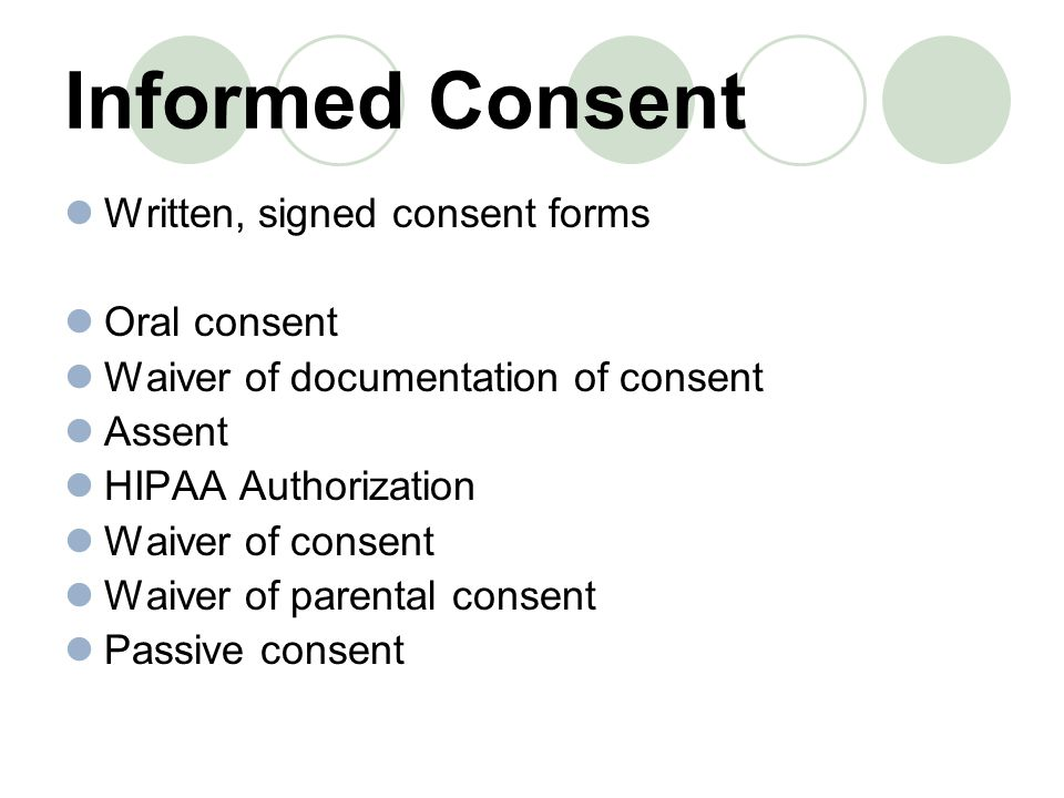 Informed Consent  Ppt Download