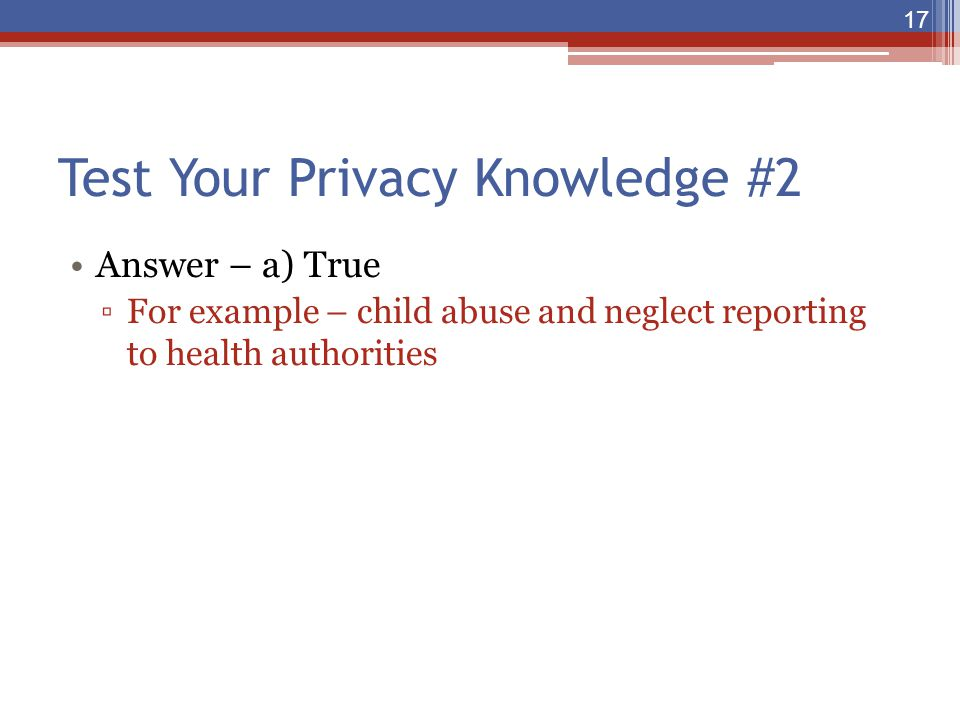 Test Your Privacy Knowledge #2