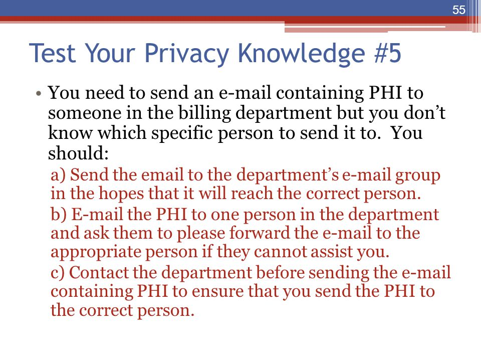 Test Your Privacy Knowledge #5