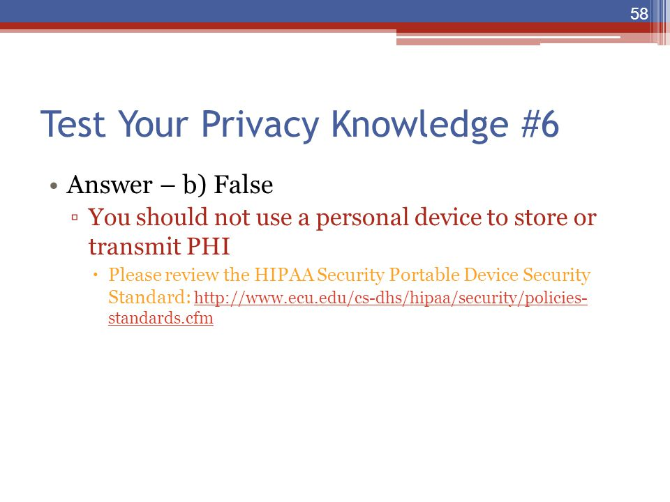 Test Your Privacy Knowledge #6