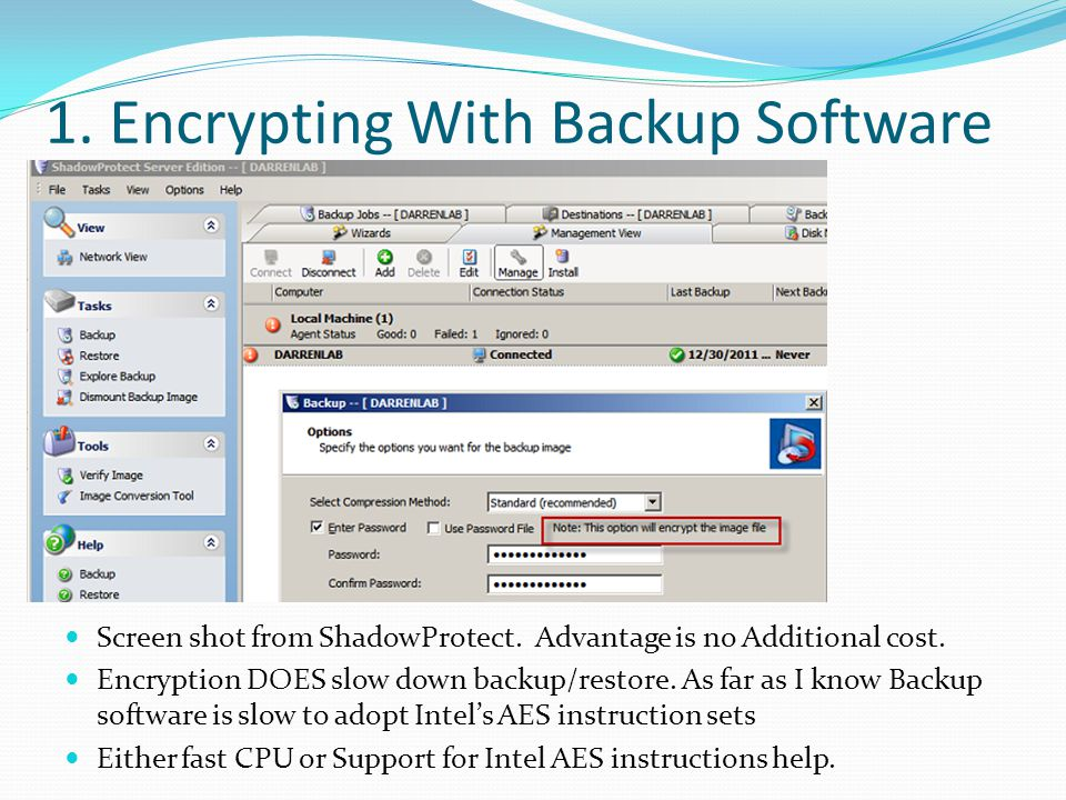 fast backup software