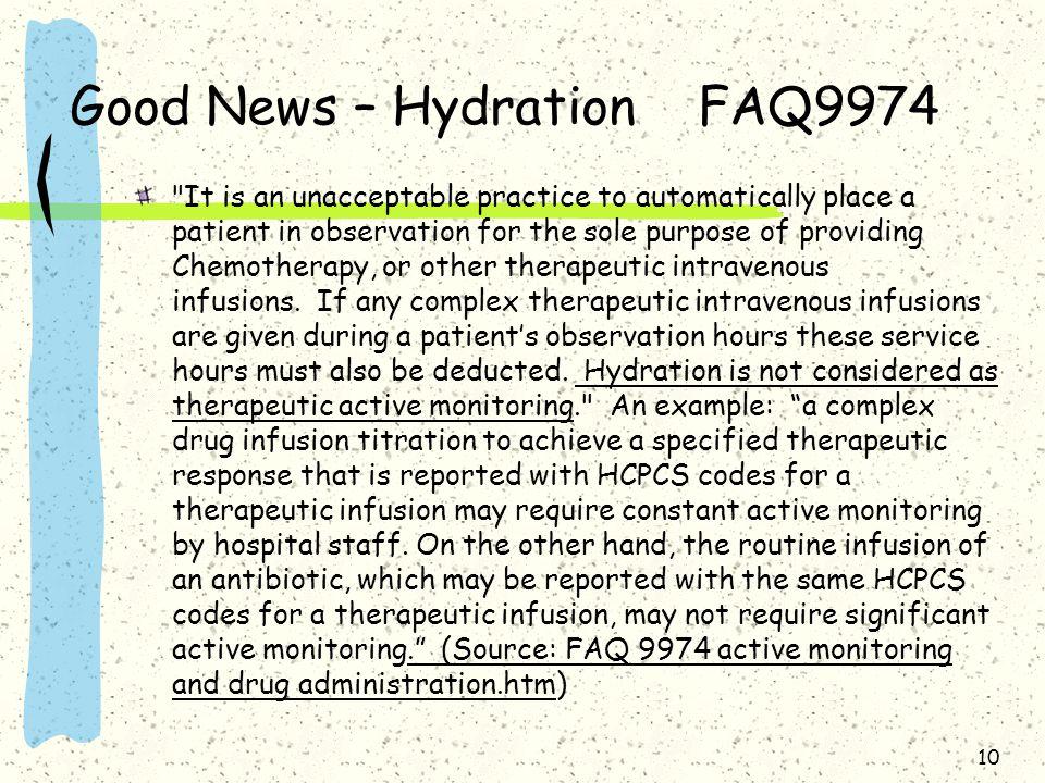 Good News – Hydration FAQ9974