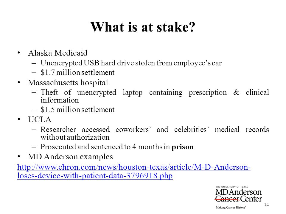 What is at stake Alaska Medicaid Massachusetts hospital UCLA