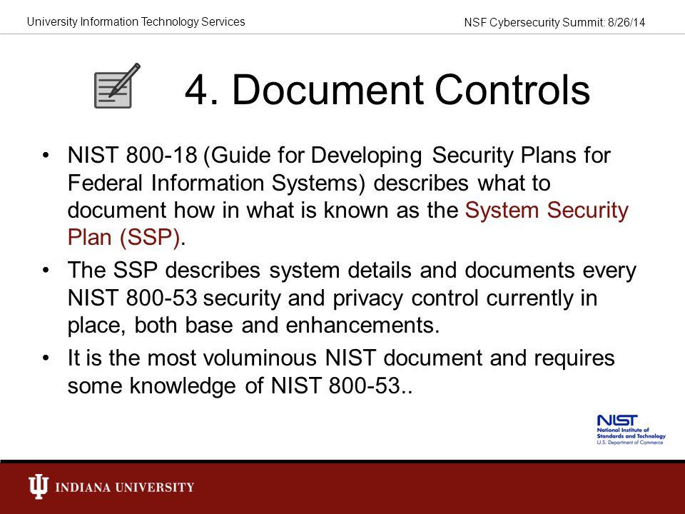4. Document Controls