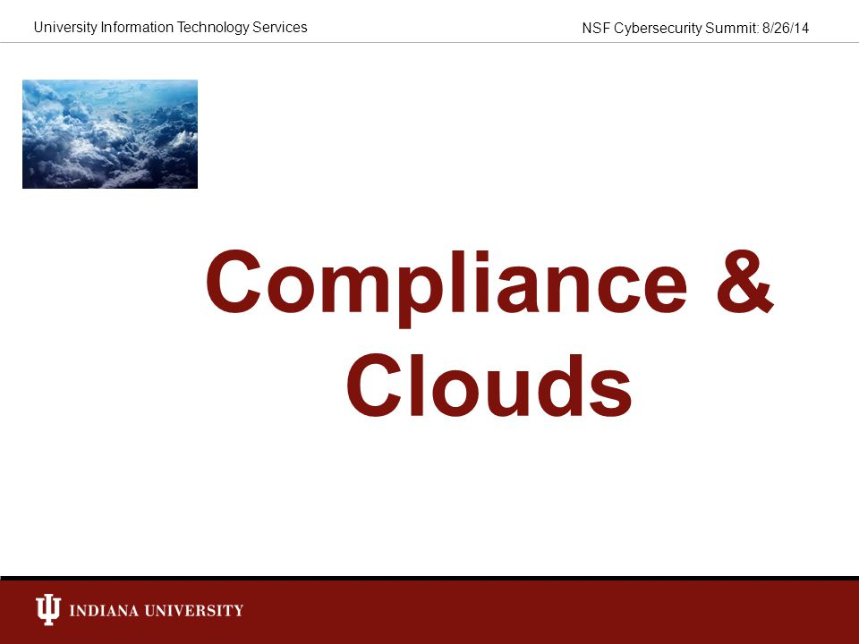 Compliance & Clouds