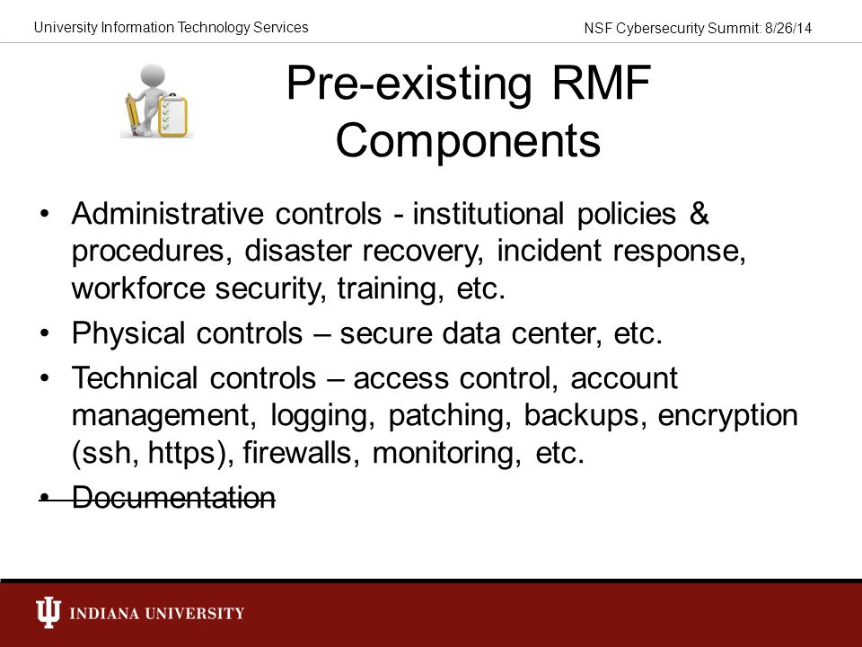 Pre-existing RMF Components
