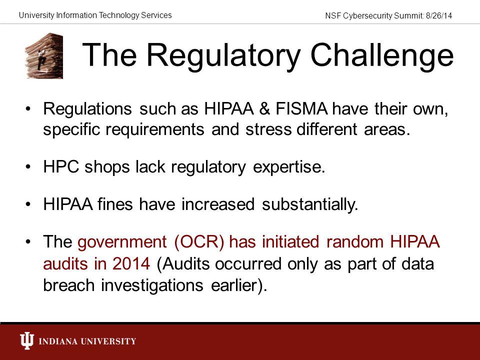The Regulatory Challenge