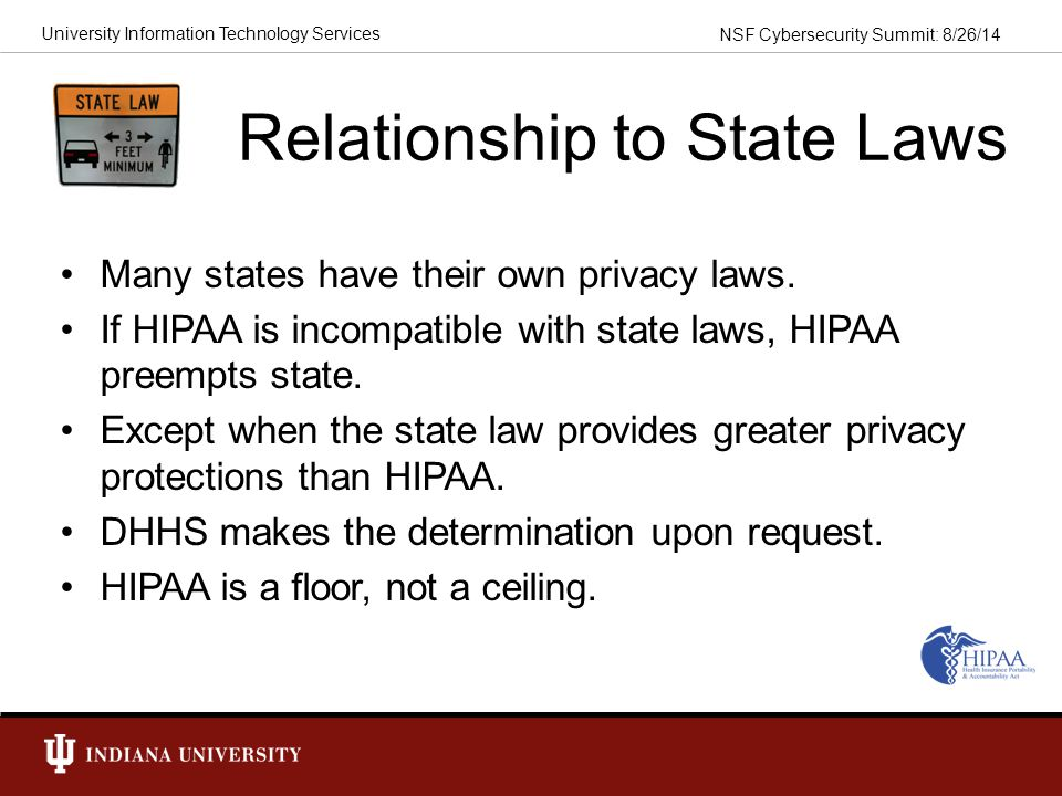 Relationship to State Laws