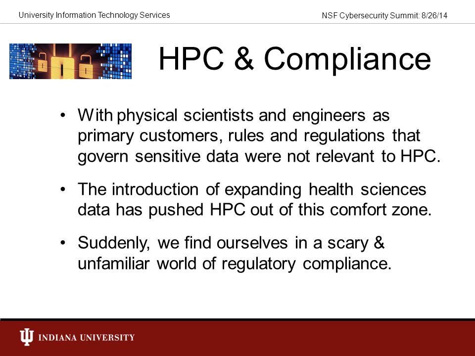 HPC & Compliance