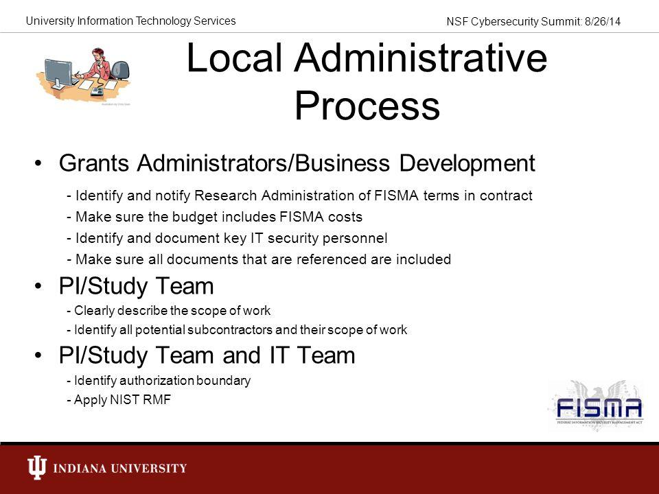Local Administrative Process