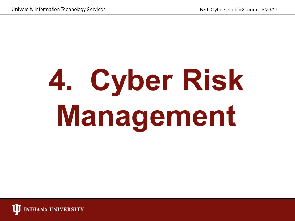4. Cyber Risk Management