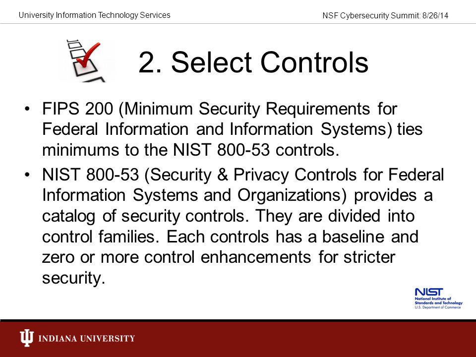 2. Select Controls