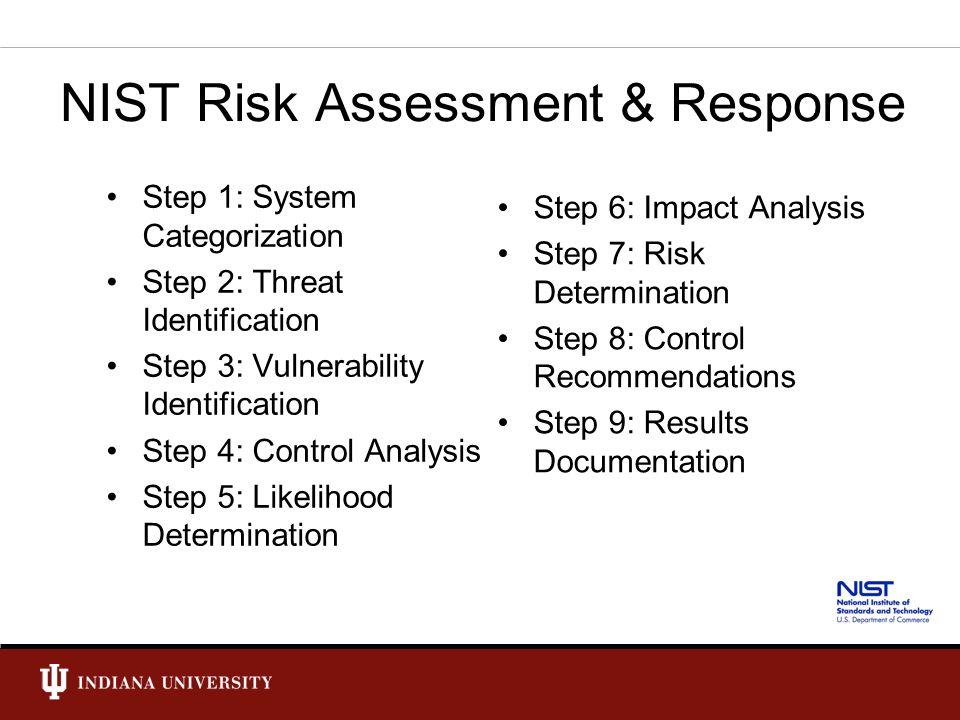 NIST Risk Assessment & Response