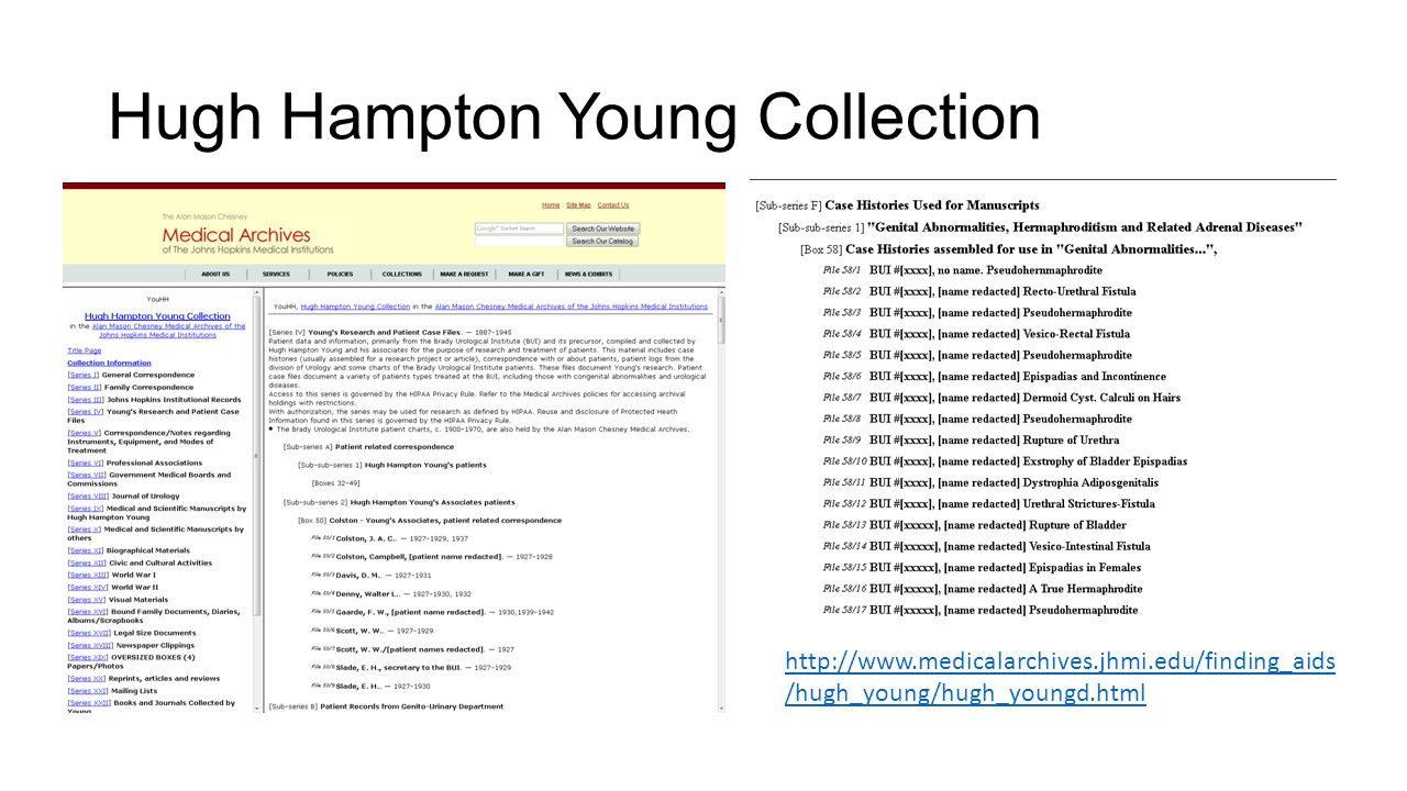 Hugh Hampton Young Collection